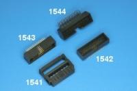 1.27 mm x 2.54 Ref 1541, 1542, 1543, 1544