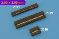 2.00 x 2.00 mm Ref 2051, 2039, 2040