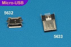Micro USB Ref 5632, 5633