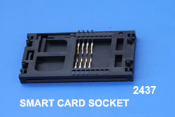 Smart card socket Ref 2437