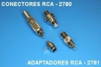 Conectors RCA 2780, adaptor RCA 2781