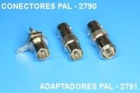 Conectors PAL 2790, adaptor PAL 2791