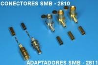 Conectors SMB 2810, adaptor SMB 2811