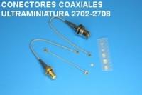 Coaxial conectors ultraminiature 2702-2708