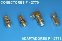 Conectors F 2770, adaptor F 2771