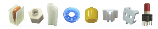Parts Washer - Holder - Silicon Insulator - Soft PVC Sleeves - VCP Cap - Tact Switch Cap - Connector Cap - Connector Cover - MIC Holder