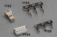 1.25mm Ref 1152, 1153, 1154, 1155