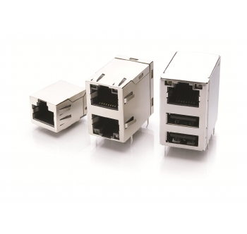 RJ45 MAGNETIC MODULAR CONNECTORS